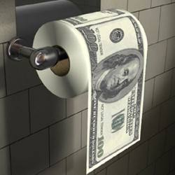 $100 Toilet Paper