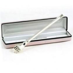 Gentleman's Silver Plated Ballscratcher