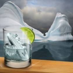 Titanic Ice Cube Tray